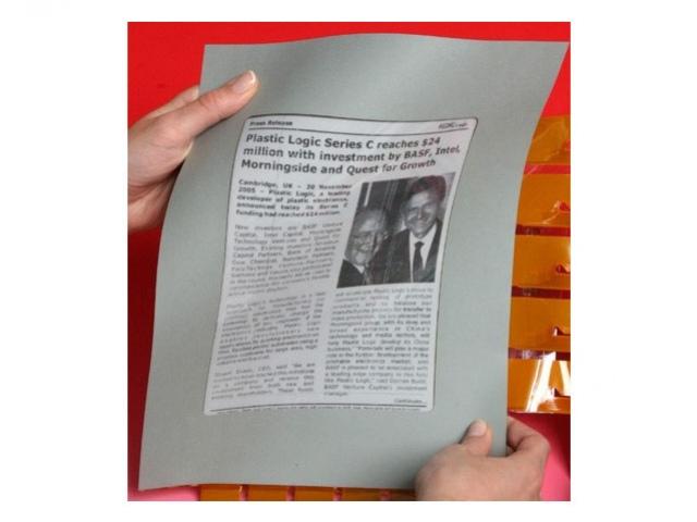 Газеты на основе E Ink – в 2009 году
