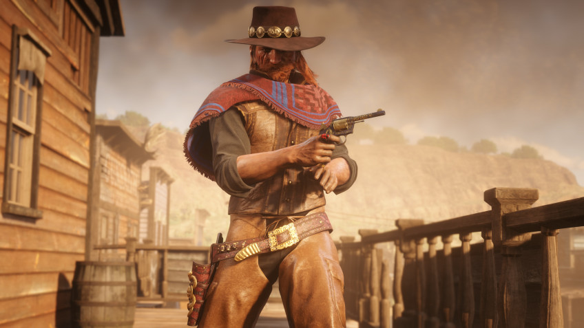 В Red Dead Online исчезают животные и NPC, а игроки не могут стрелять