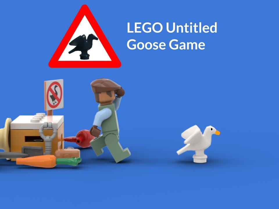 LEGO и правда может выпустить набор по мотивам Untitled Goose Game