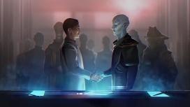 Появился трейлер к выходу дополнения Federations для Stellaris