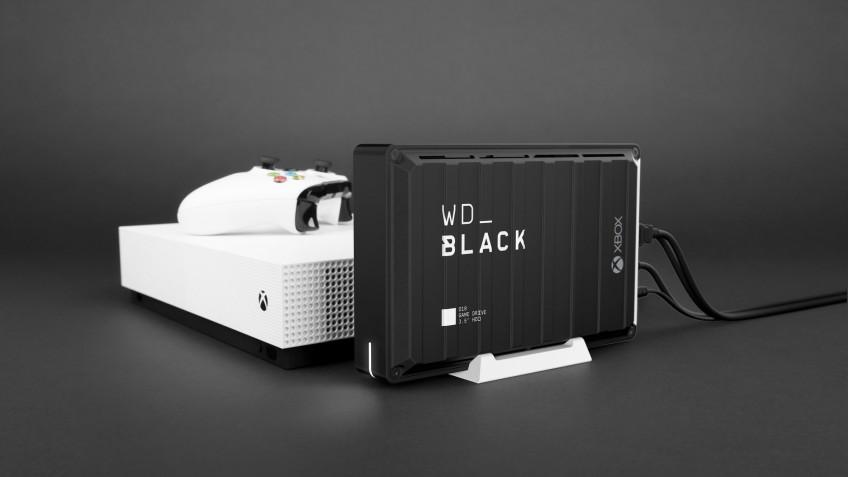 WD представила линейку накопителей для PC и консолей