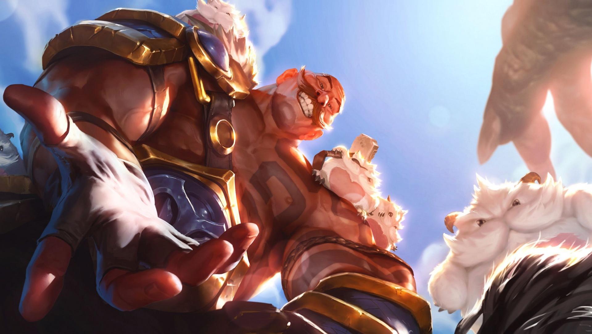 К Legends of Runeterra выпустили сюжетный ролик, посвящённый Брауму