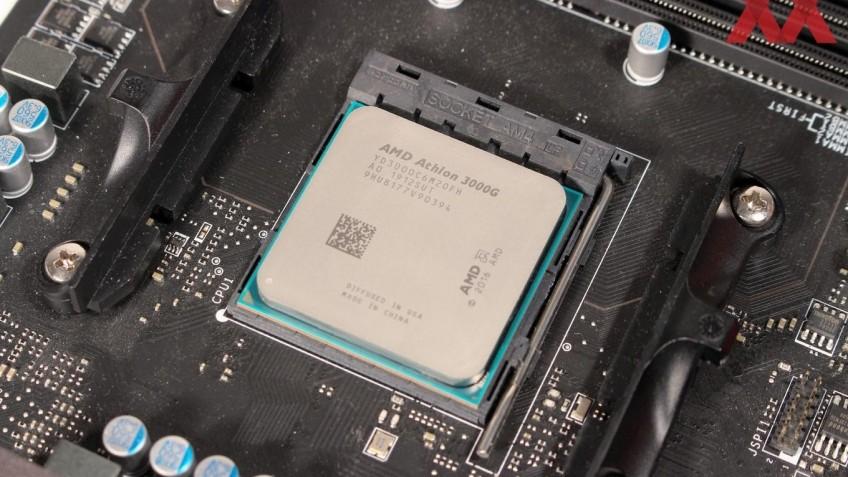 AMD представила процессоры Athlon 3000 Gold и 3000 Silver