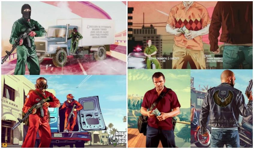 Колумбийский сериал заподозрили в плагиате артов из GTA1