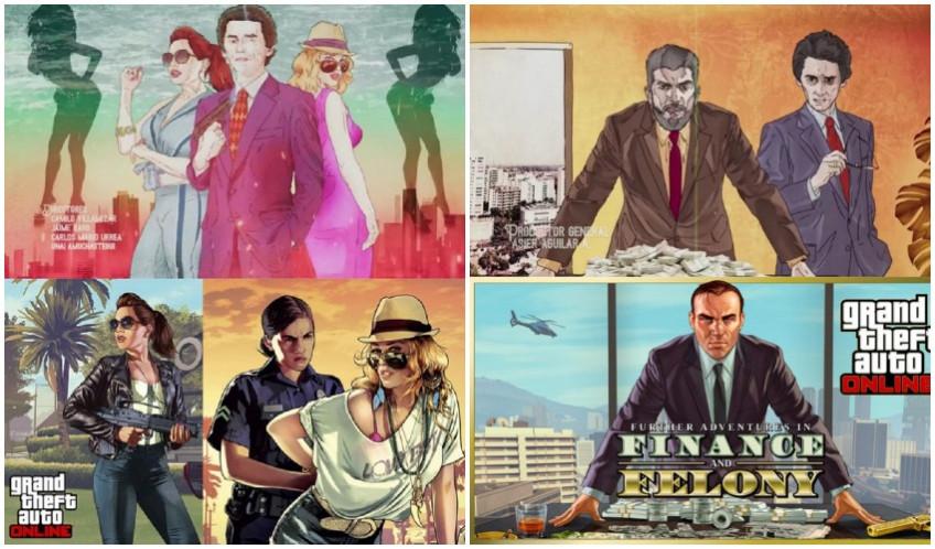Колумбийский сериал заподозрили в плагиате артов из GTA2