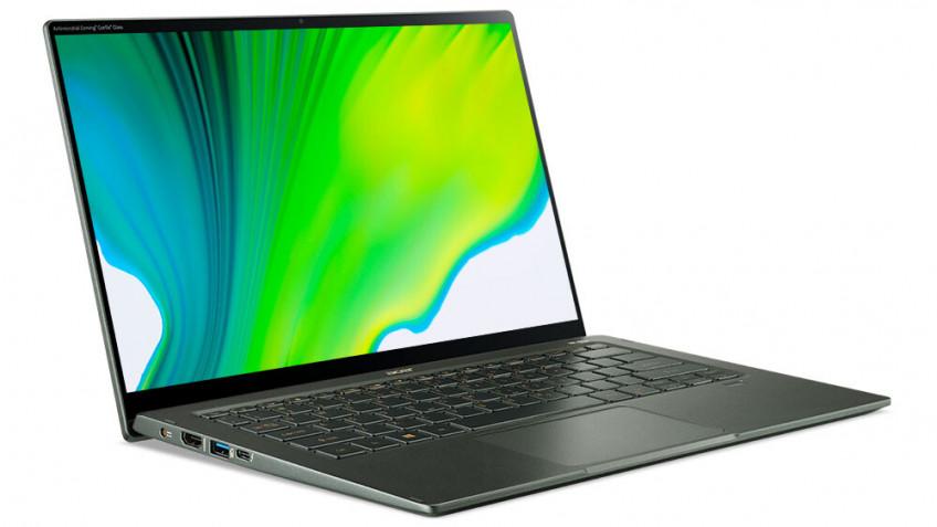 Acer представила первые ноутбуки на Intel Tiger Lake
