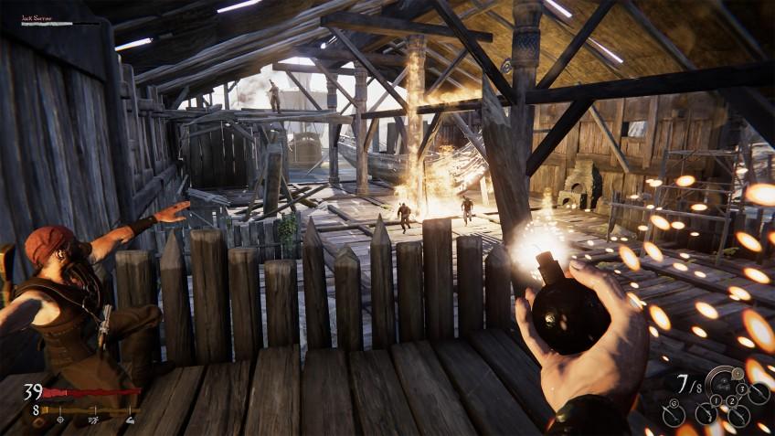 К Out of Reach добавят пиратскую королевскую битву