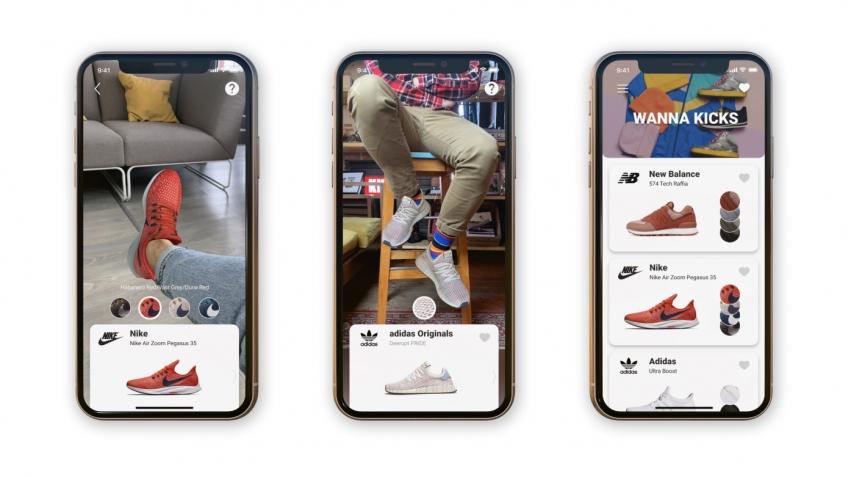 В Беларуси представили AR-приложение для примерки обуви