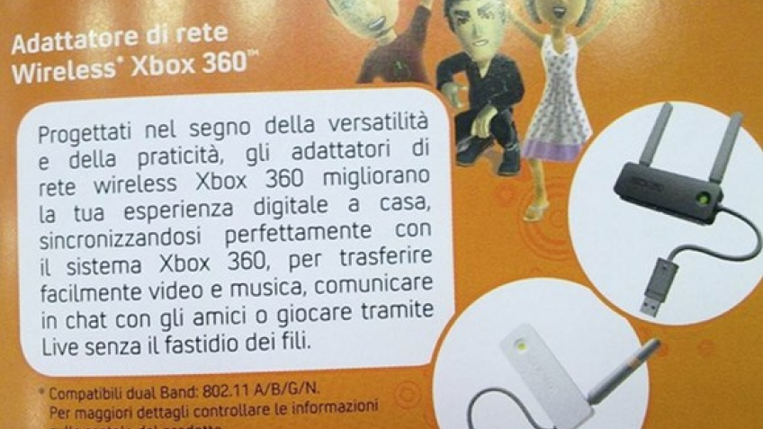Адаптер Wi-Fi 802.11n для Xbox 360, теперь официально