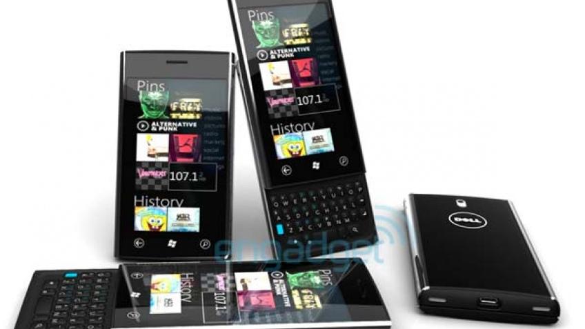 Dell «потеряла» рендеры будущего телефона на Windows Phone 7