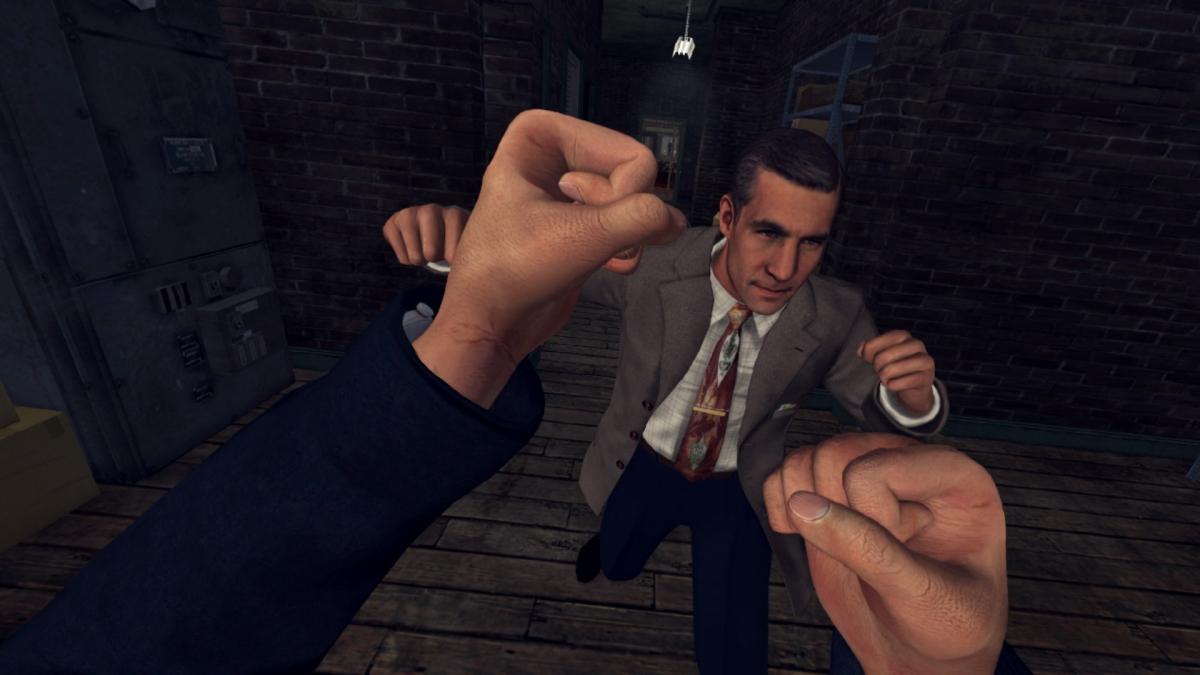 Безумный детектив Фелпс: в сети появился забавный ролик L.A. Noire: The VR Case Files