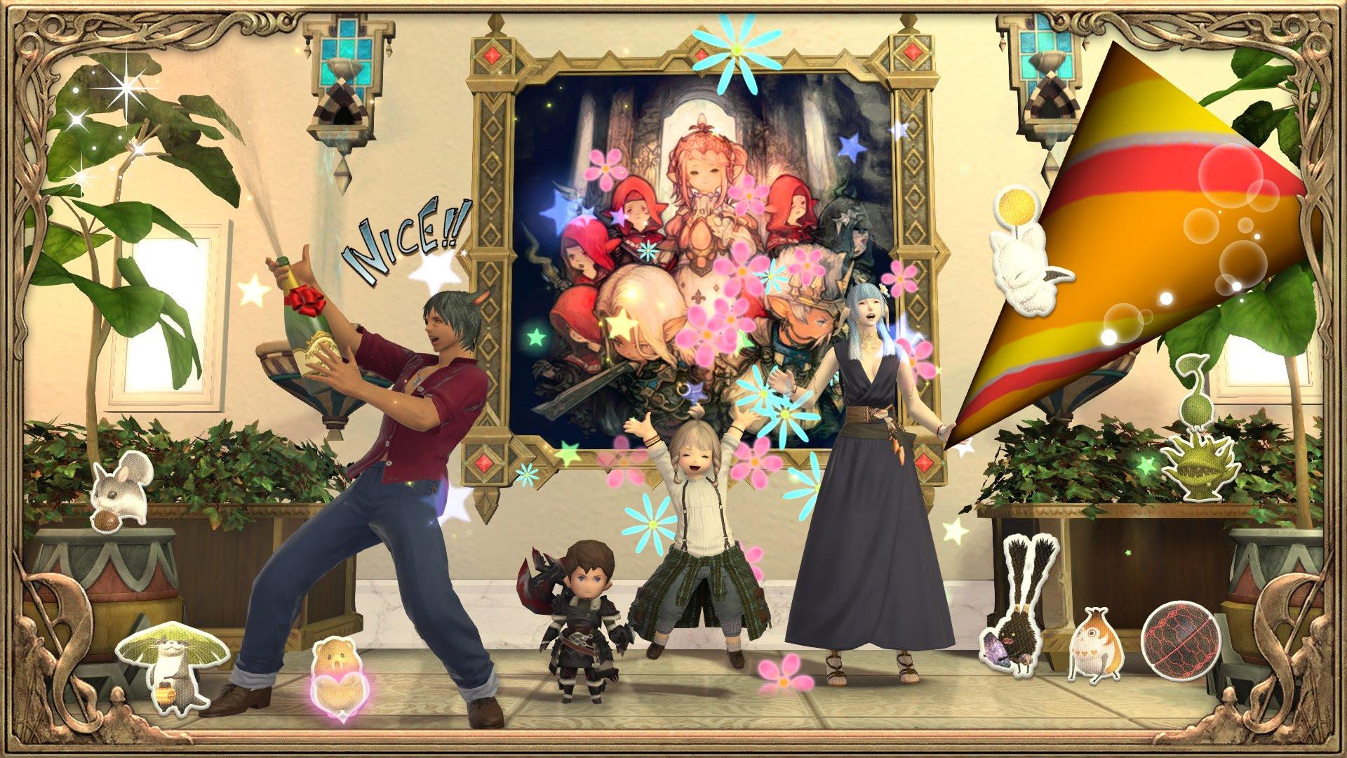 Final Fantasy XIV празднует свою седьмую годовщину