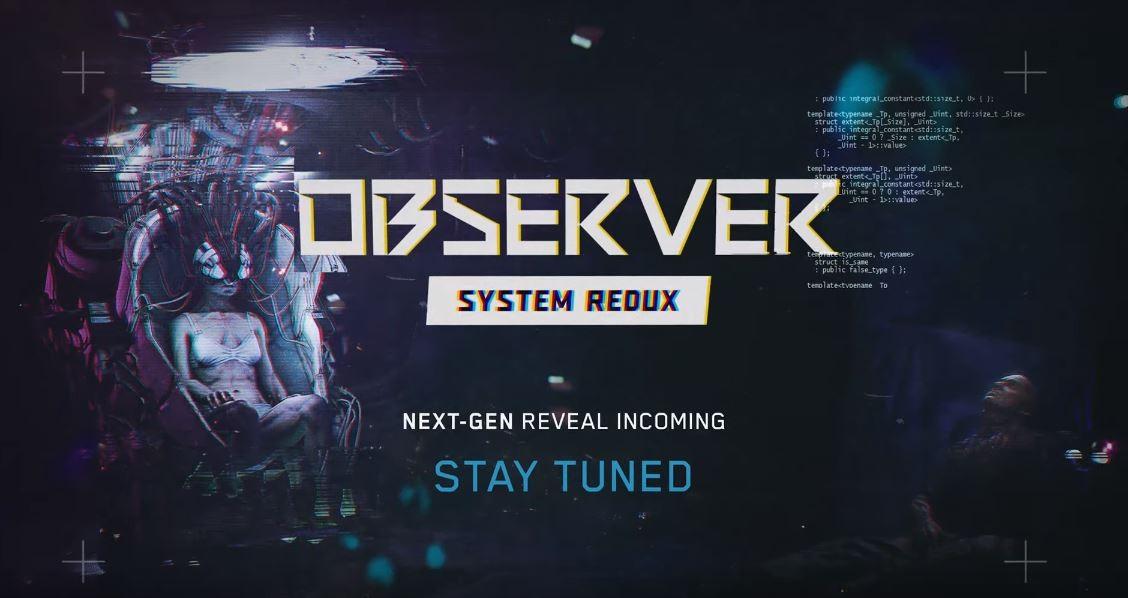 Observer System Redux выйдет на консолях нового поколения