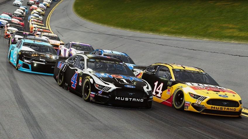 Асфальт, грязь и аварии в релизном трейлере NASCAR Heat4