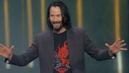 Игрок, назвавший Киану Ривза сногсшибательным, получит коллекционку Cyberpunk 2077