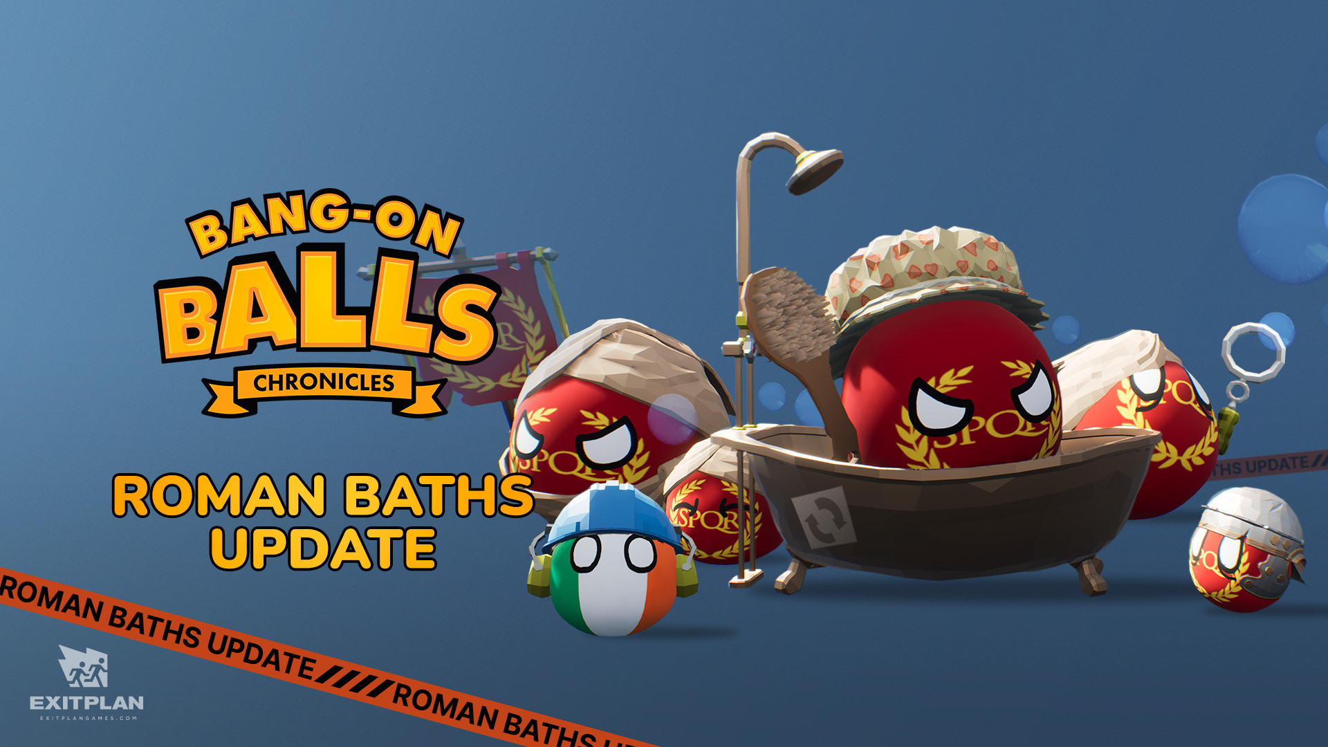 Идите в баню: в Bang-on Balls: Chronicles добавили новое подземелье