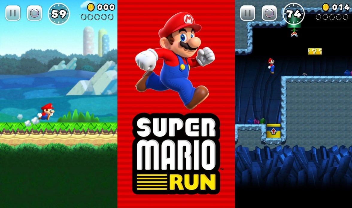Игра Super Mario Run стала популярнее Pokemon GO