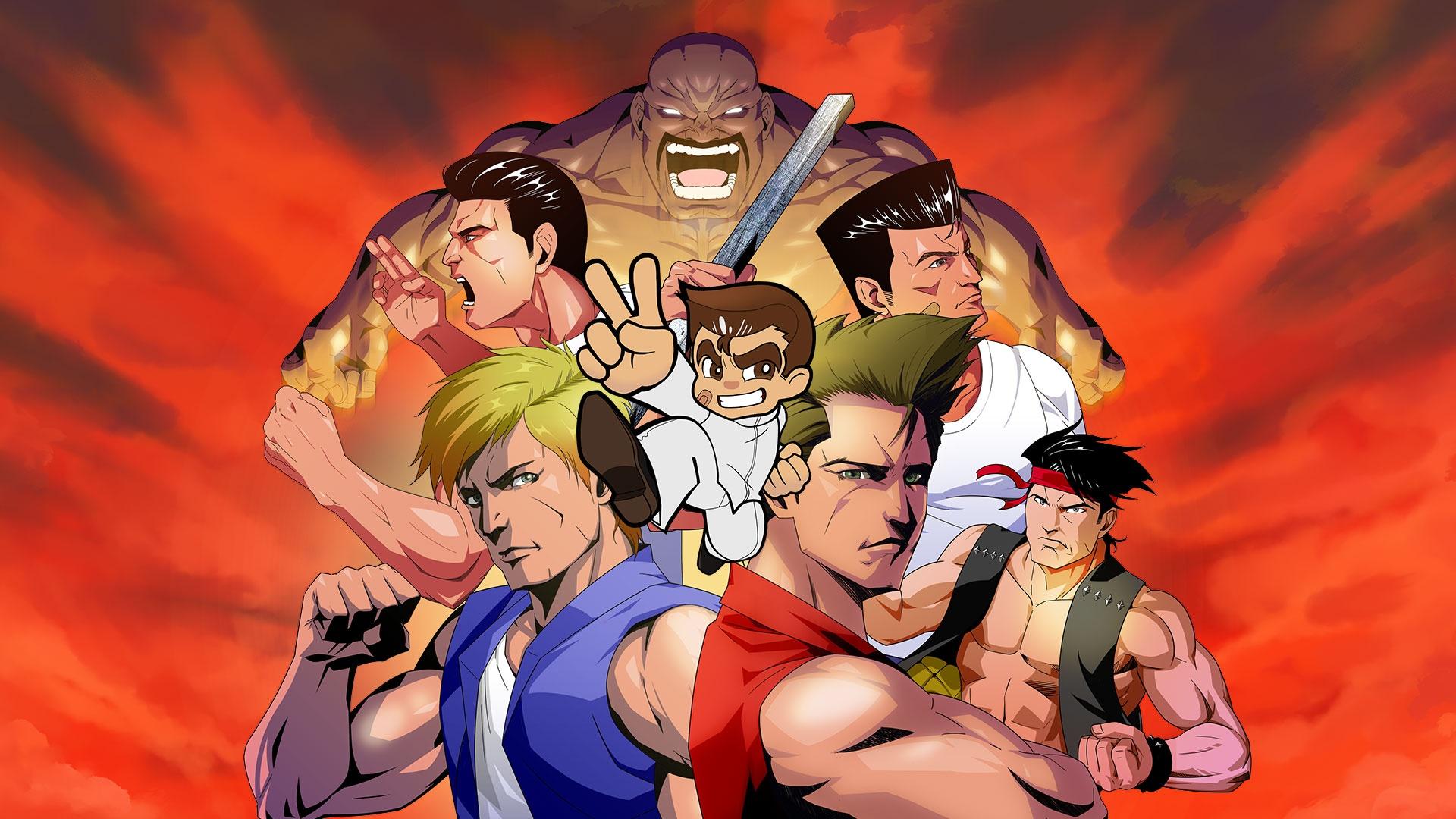 Сборник Double Dragon & Kunio-kun Retro Brawler Bundle скоро выйдет на Западе