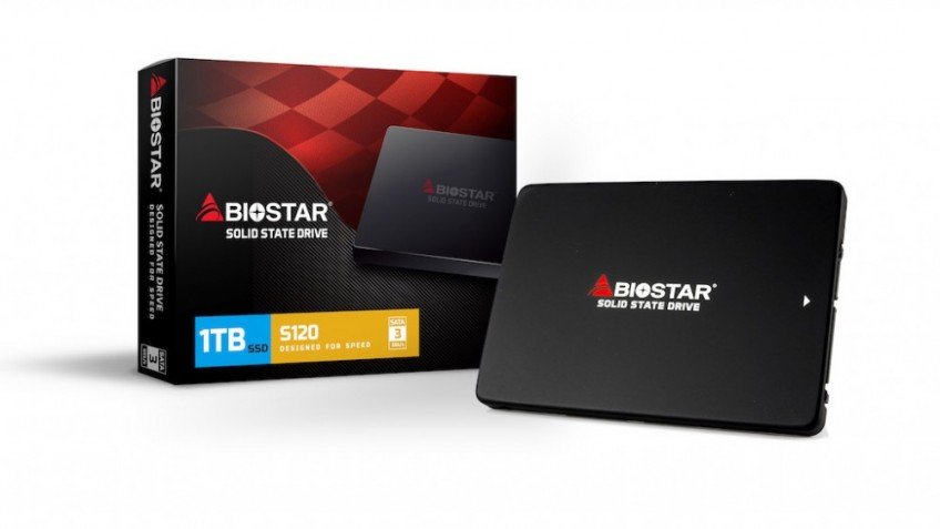Biostar представила SSD-накопители S120 серии Ultra Slim