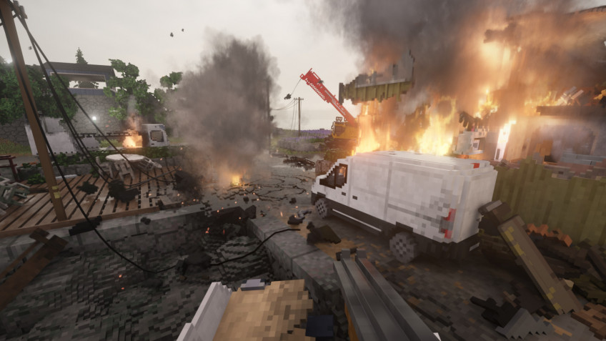 В Teardown добавили новую карту и фоторежим