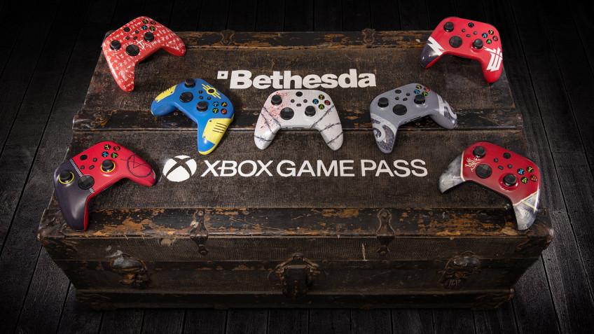 Microsoft разыгрывает семь контроллеров Xbox в стиле игр Bethesda