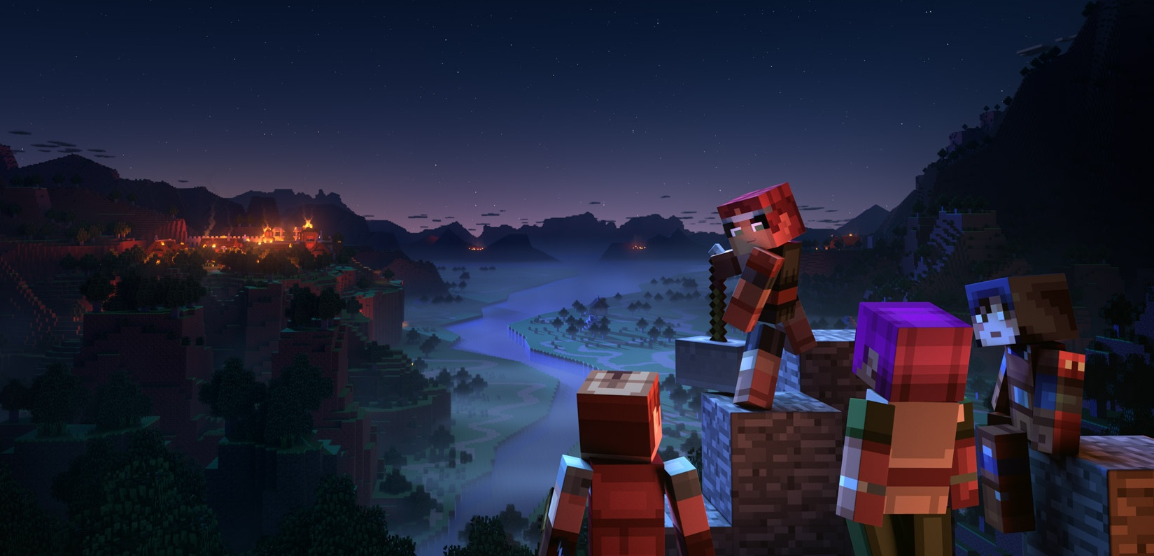 Minecraft Dungeons перенесли на26 мая