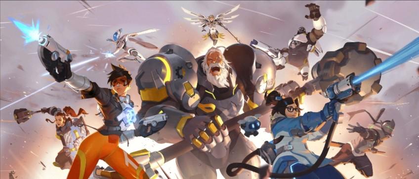 Появился ещё один постер Overwatch2, а Kotaku объявила о скором анонсе игры