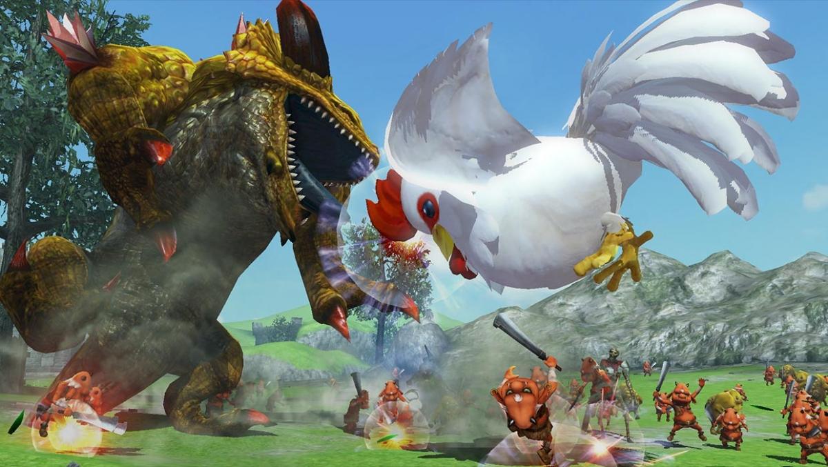 В Hyrule Warriors: Definitive Edition Линк сможет «ходить лошадью»