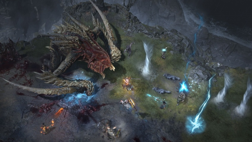 Сражение с мировым боссом в новом геймплейном ролике Diablo IV