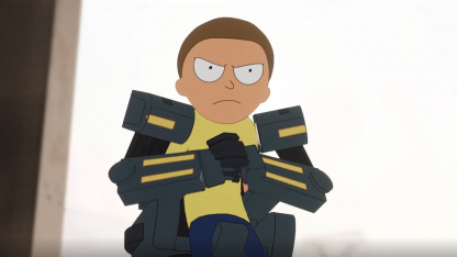 In Fortnite, Riku is in a hurry to join Morty - more precisely, Mehamorti