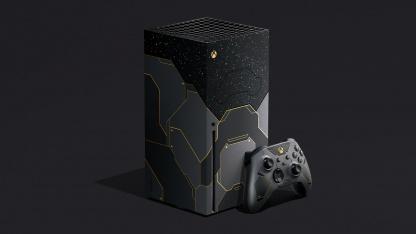 Предзаказать Xbox Series X в стиле Halo Infinite можно будет с15 октября