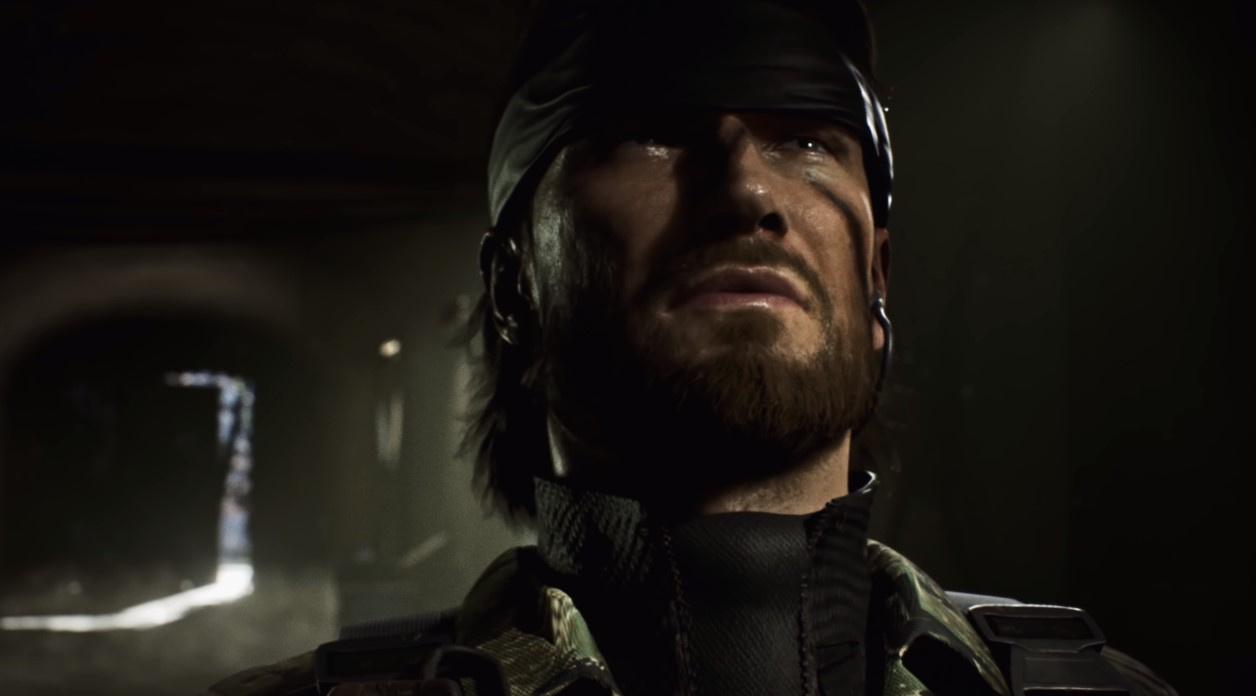 Культовую сцену с лестницей из Metal Gear Solid3 воссоздали на Unreal Engine4