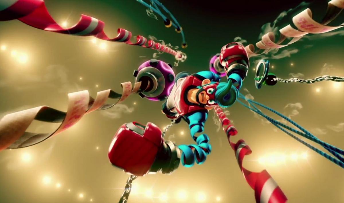 Nintendo анонсировала файтинг Arms