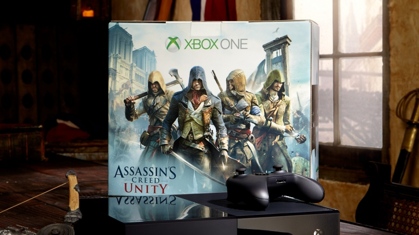 Microsoft выпустит комплект Xbox One с бесплатной Assassin's Creed: Unity