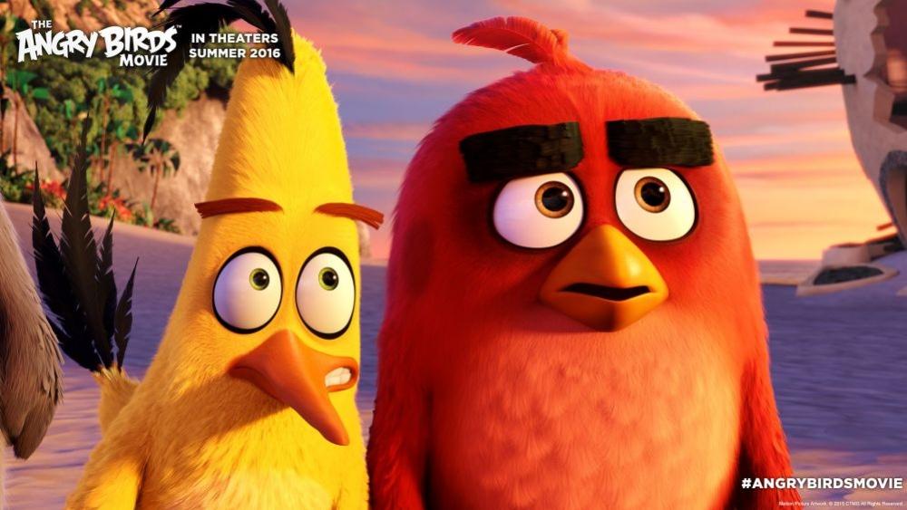Вышел сюжетный трейлер мультфильма The Angry Birds Movie