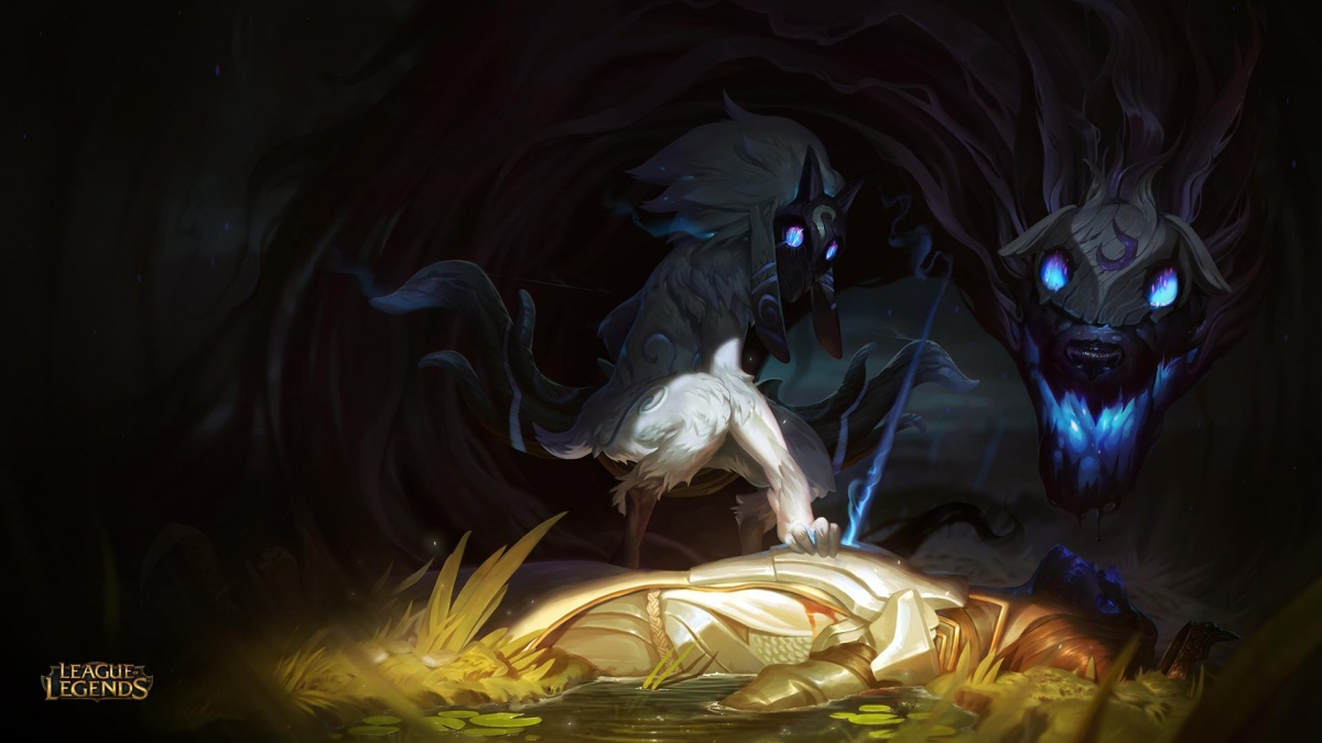 Киндред — новый чемпион League of Legends