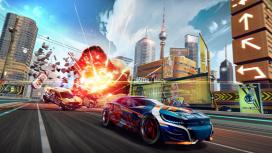 В Apple Arcade вышла наследница Split/Second — Detonation Racing