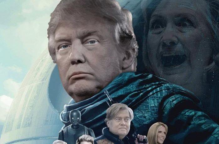 В неудачах «Последних джедаев» виноваты Трамп и русские тролли
