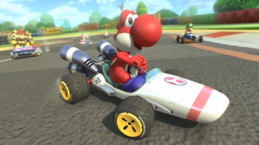 Легендарный B Dasher появится в Mario Kart8