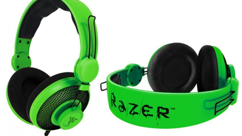 Razer представила ядовито-зеленые геймерские наушники