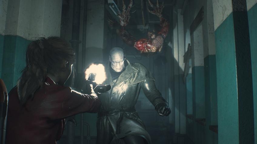 Во время спидрана ремейка Resident Evil2 за игроком начали охотиться два тирана