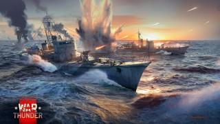 морские сражения вар тандер