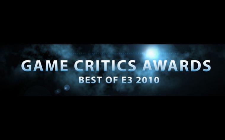 Названы победители 2010 E3 Game Critics Awards