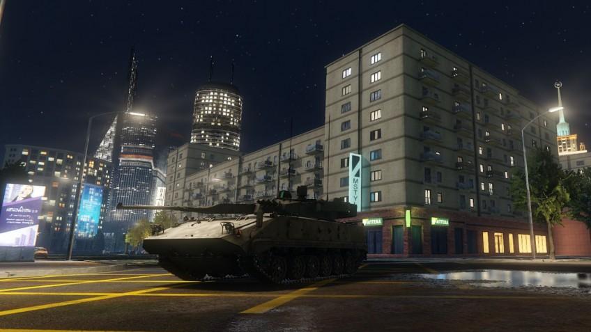 """Новый сезон «Armored Warfare: Проект """"Армата""""» назвали «Москва. Вторжение»"""