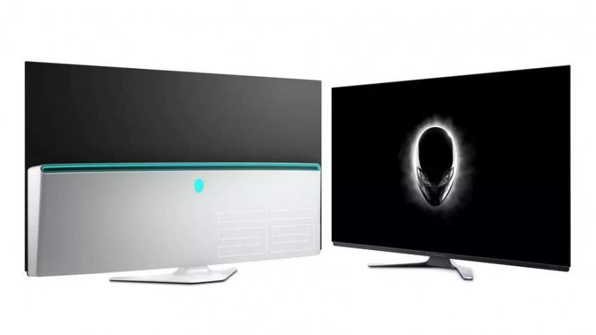 Игровой монитор Alienware55 OLED Gaming Monitor стоит 4000 долларов