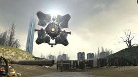 Энтузиаст превратил квадрокоптер в летающий дрон из Half-Life2