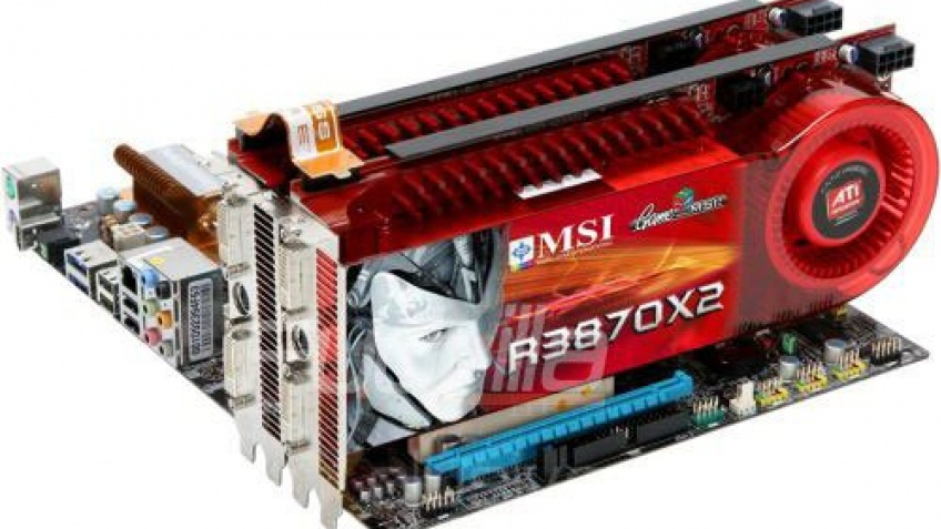 Фотографии Radeon HD 3870 X2 от MSI