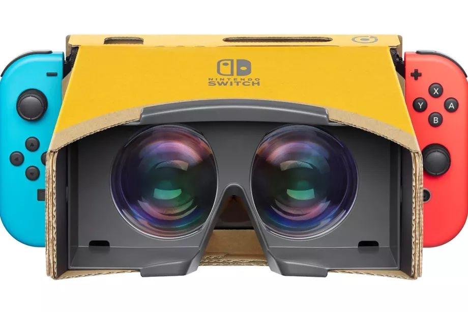 Nintendo представила картонные VR-очки для Labo