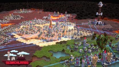 В мире Scorchlands объединяются магия и научная фантастика