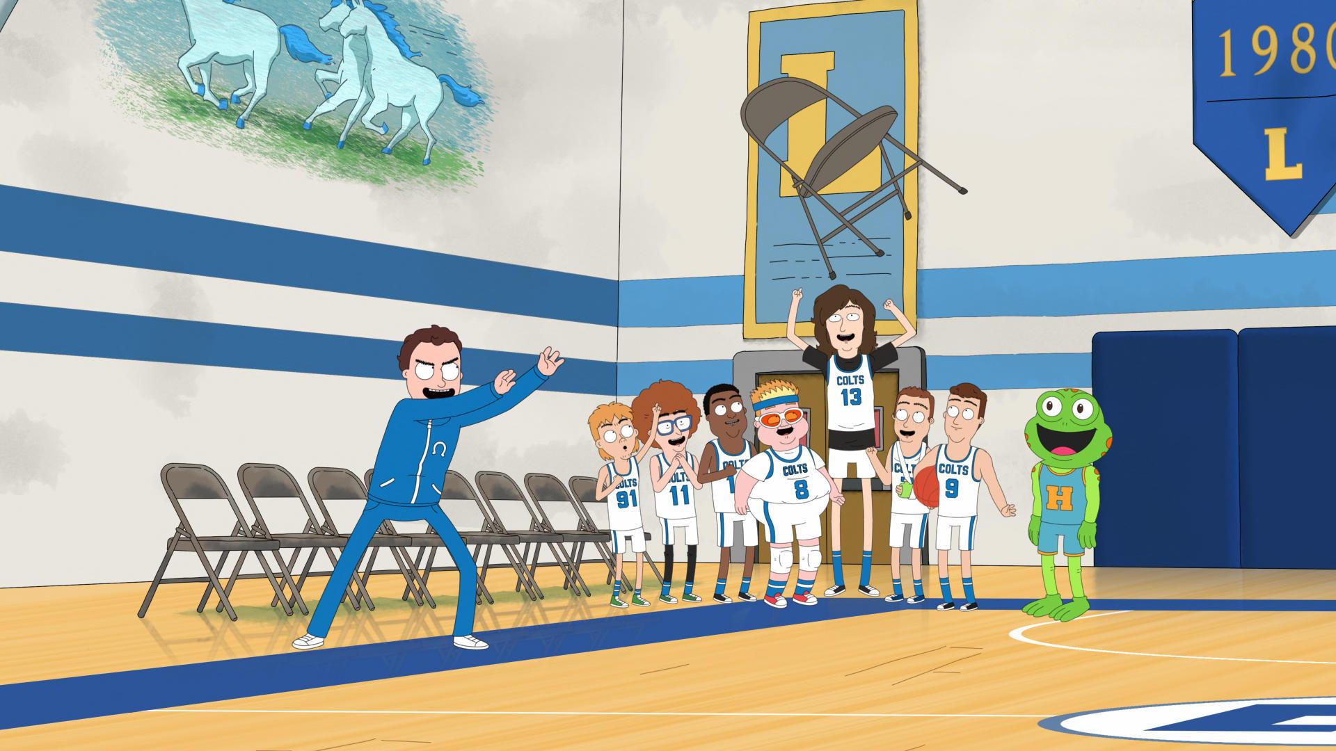Вышел трейлер новой анимационной комедии Netflix про баскетбол